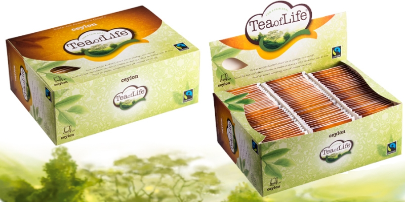 NEW – CEYLON TEA - 100 teabags
