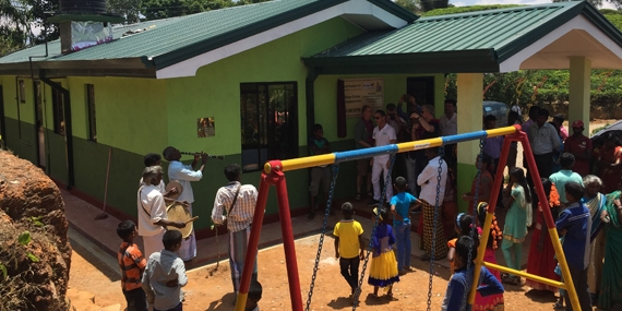 New Fair-grounds child care centre on Vellaioya Estate