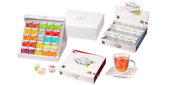 Tea of Life expands with Pyramids Fairtrade Cubes