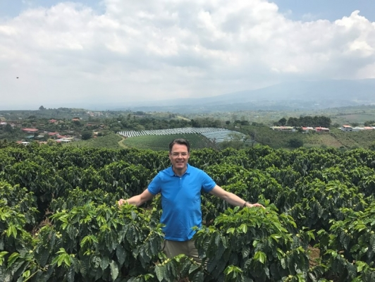 Marcel Vogel 25 years in coffee and tea